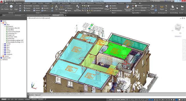 PointSense Building_in AutoCAD