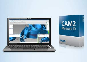 Measuring arm software: Faro Software CAM2 Measure10