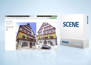3D Documentation Software for Laser Scanning: FARO SCENE